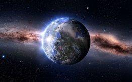 la-tierra-suspendida-en-el-universo